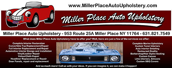 miller place auto upholstery 953 route 25a miller place ny 11764. Black Bedroom Furniture Sets. Home Design Ideas